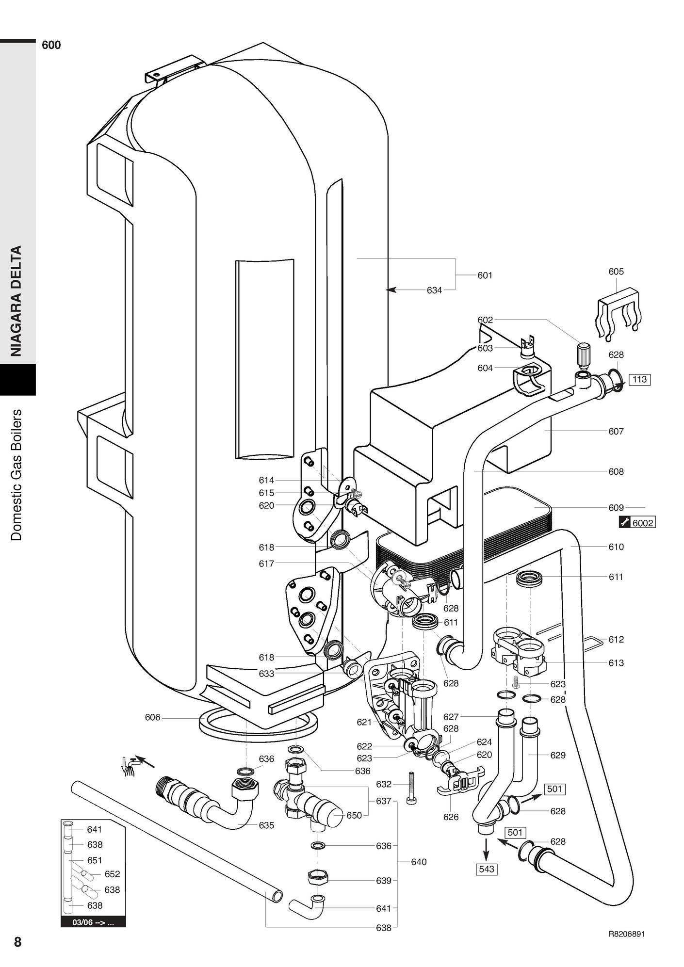 recherche directe dans la vue clat e de la nomenclature chaudi re chaffoteaux niagara delta 30. Black Bedroom Furniture Sets. Home Design Ideas
