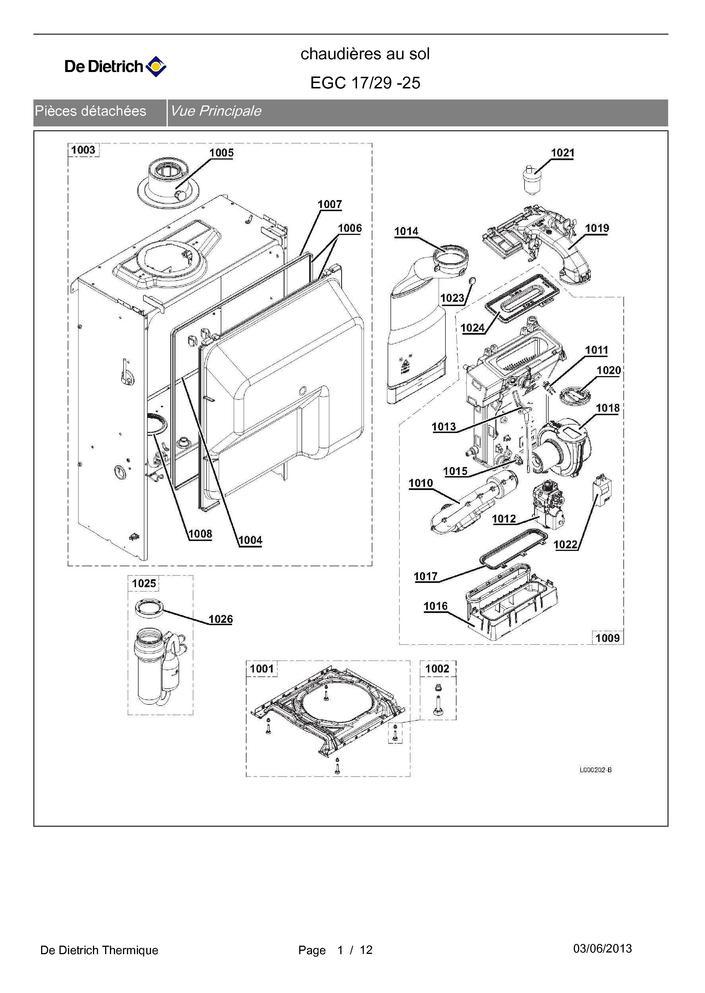 pi ces d tach es chaudi re de dietrich egc 17 29 25 pi ces express pi ces d tach es de. Black Bedroom Furniture Sets. Home Design Ideas