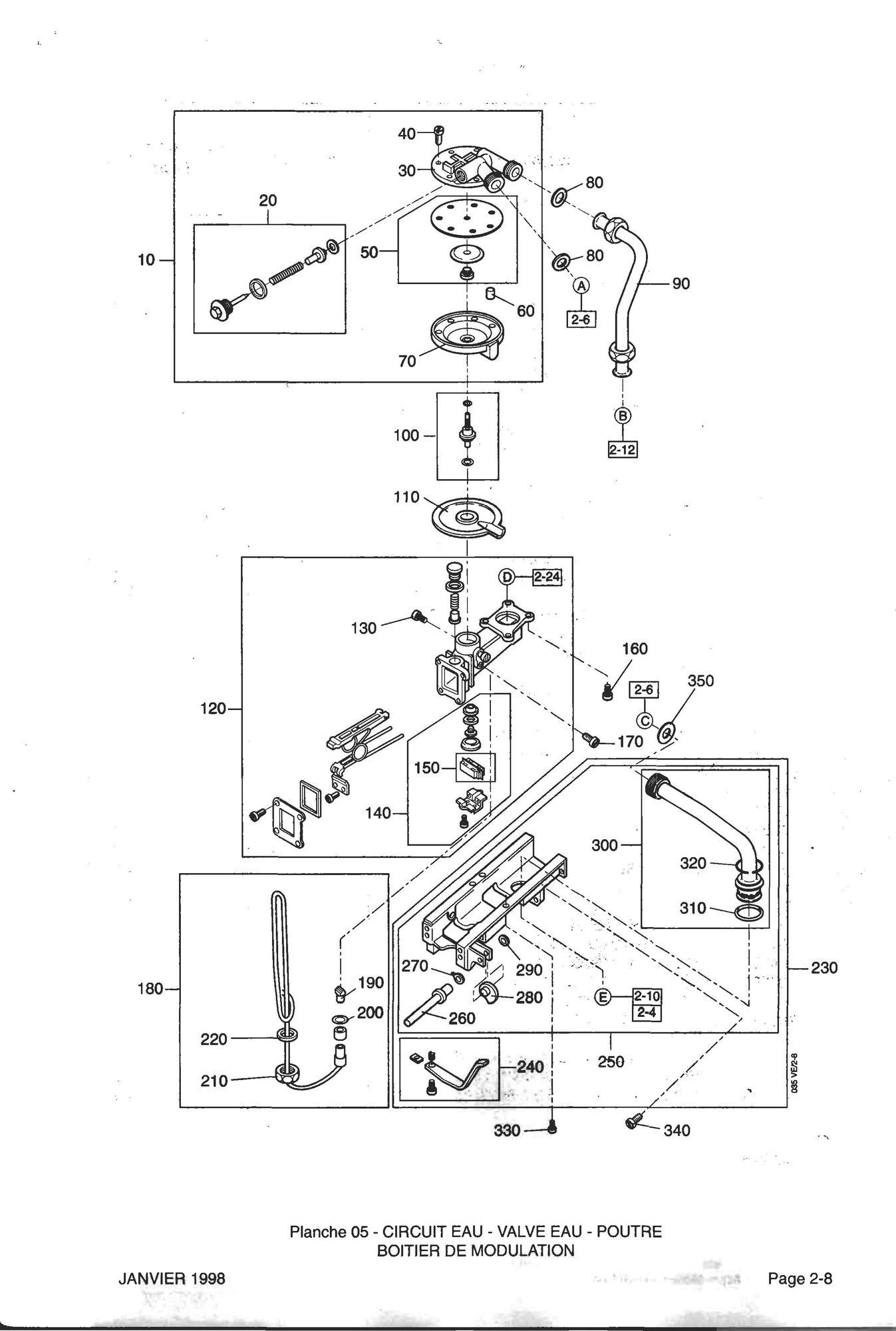 recherche directe dans la vue clat e de l 39 article elm leblanc membrane valve eau equipee. Black Bedroom Furniture Sets. Home Design Ideas