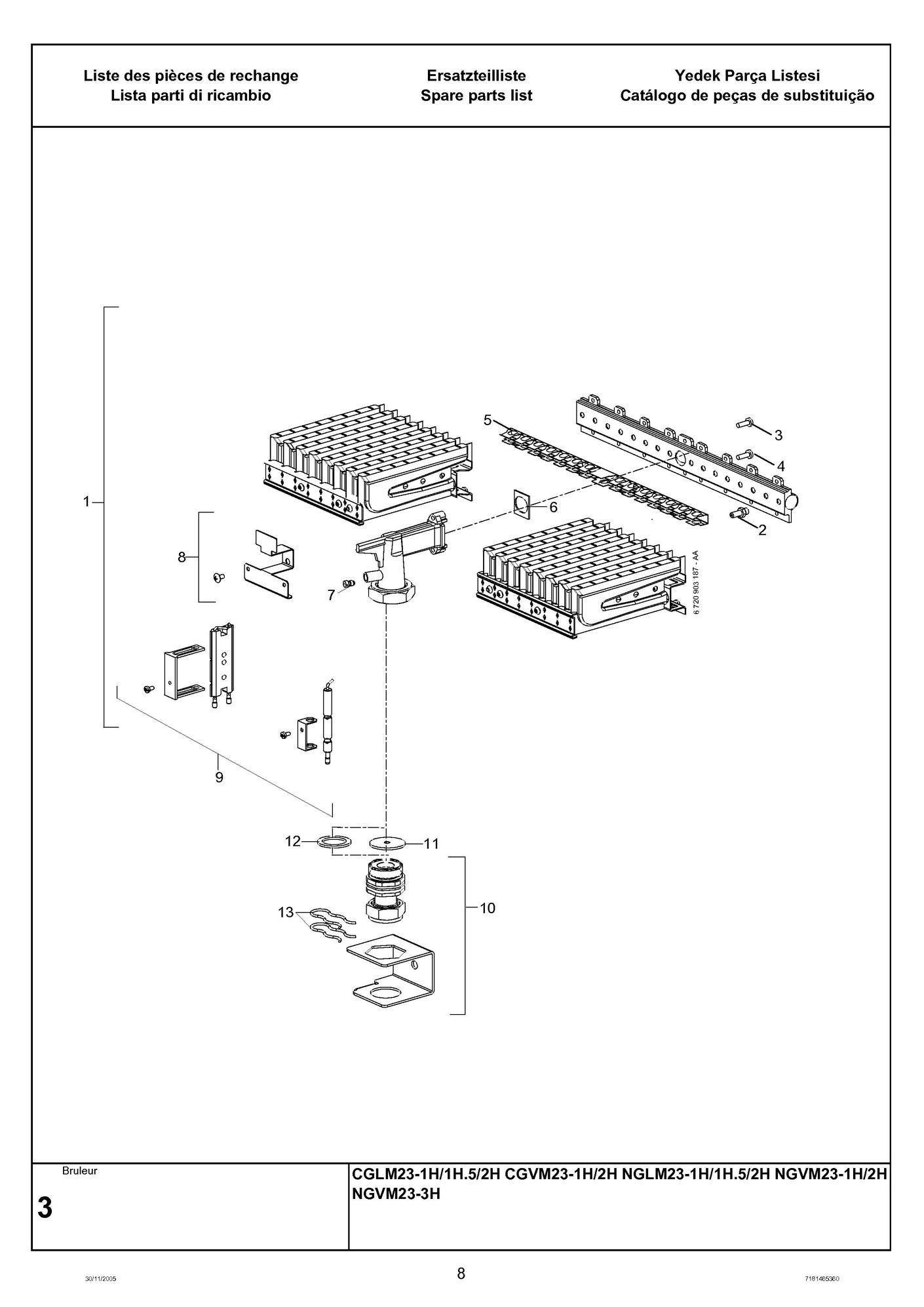 recherche directe dans la vue clat e de l 39 article elm leblanc bruleur nglm23 nat equipe. Black Bedroom Furniture Sets. Home Design Ideas