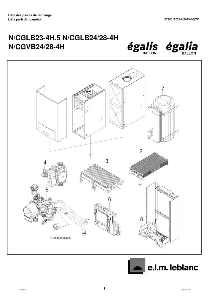pi ces d tach es chaudi re elm leblanc egalis nglb ngvb4h pi ces express pi ces d tach es de. Black Bedroom Furniture Sets. Home Design Ideas