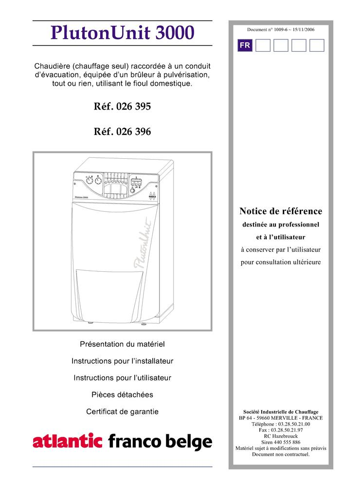 chauffage electrique atlantic notice cheap pluton et. Black Bedroom Furniture Sets. Home Design Ideas