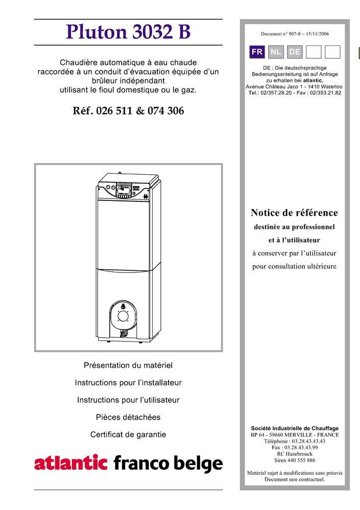 pi ces d tach es chaudi re franco belge pluton 3032 b pi ces express pi ces d tach es de. Black Bedroom Furniture Sets. Home Design Ideas