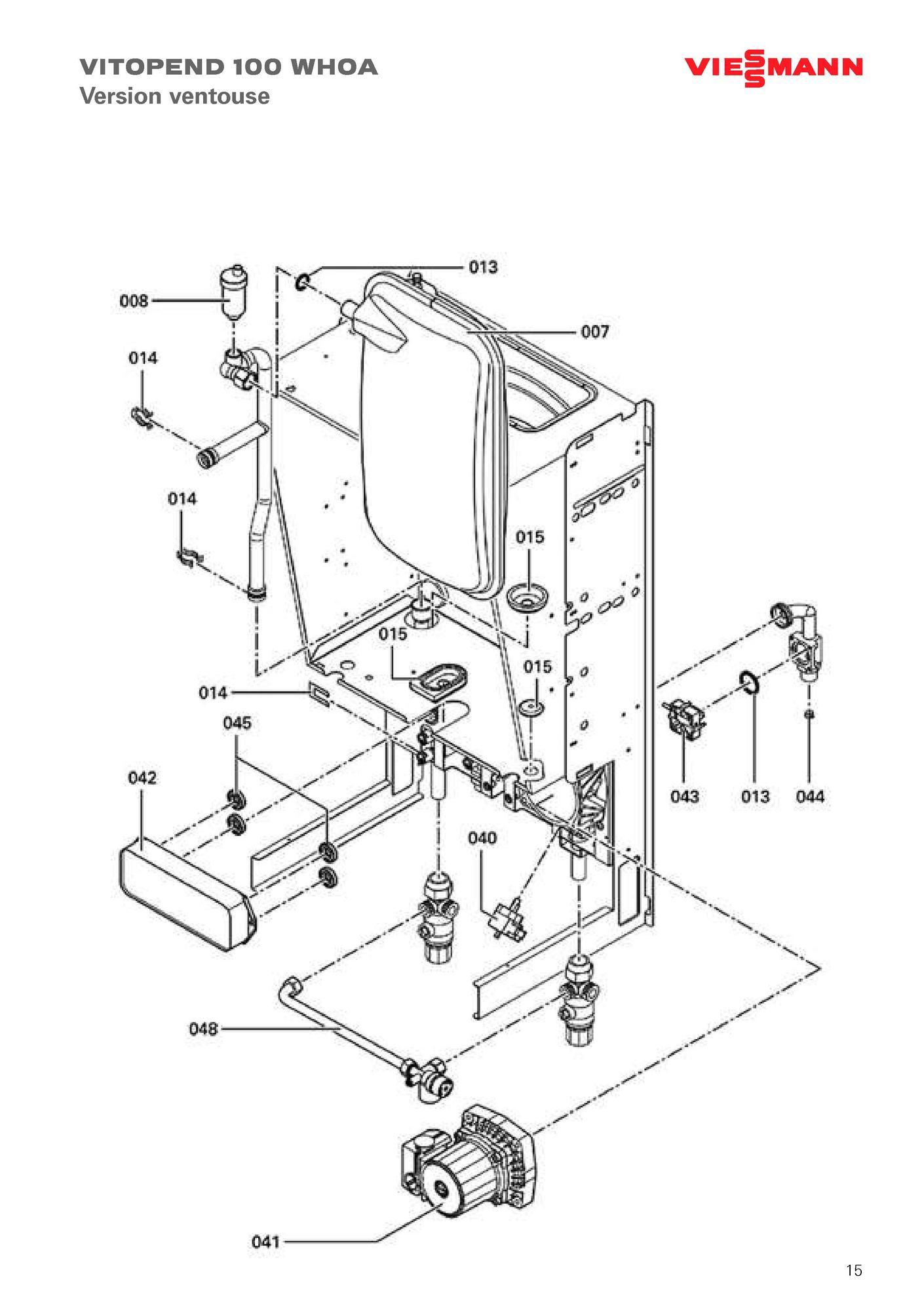 recherche directe dans la vue clat e de l 39 article viessmann moteur circulateur pour vihu 25 6 2. Black Bedroom Furniture Sets. Home Design Ideas