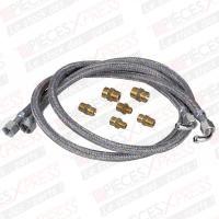 Kit 2 flexibles fioul universel 6 raccords FLE02002