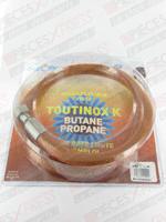 Flexible butane propane TOUTINOX long 1.25m à vie Euroflex BI125KX41
