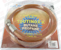 Flexible butane propane TOUTINOX long 1.50m à vie Euroflex BI150KX41