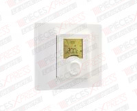 Plaque de finition pour thermostat TYBOX Delta Dore 6050566