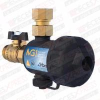 Filtre magnétique compact pour chaudière murale mg1 3/4 noir 30700500 Rbm