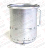 Débilitre aluminium 17L/min. PCM50028 TPS Diffusion