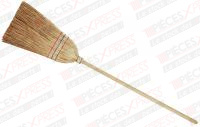 Balai paille 5 fils, manche en bois 095200