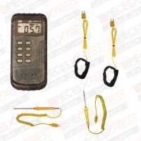 Thermomètre électronique différentiel + 4 sondes 4510S TPS Diffusion