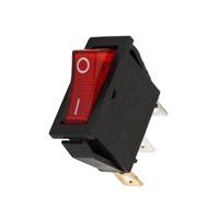 Interrupteur à bascule lumineux rouge 16 F028R