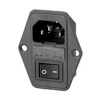 Connecteur + inter + porte fusible 15A F605