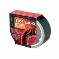 Ruban alu stop smoke 50m noir 25mm  14804001