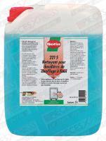 Nettoyant corps de chauffe fioul 221s 5 litres 221-5-F Sotin