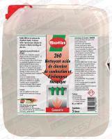 Nettoyant acide 5L Sotin 260 260-5-F Sotin