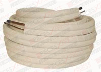 Bi-tube cuivre isole 1/4 -1/2 20m LFXX1101B