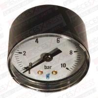 Manometre diam 50 mm 1/4 0/2,5 bar 1162RA11D Distrilabo