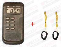 Thermometre digital 2 ent.+ 2 sondes k 305K TPS Diffusion