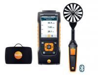 Set Testo 440 sonde hélice 100 mm et poignée Bluetooth, en sacoche. 0563 4403 Testo