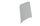 Embout pour profil 80 mm blanc Aspen 175ACL0166