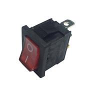 Interrupteur à bascule lumineux rouge 16 F140