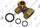 Raccord pompe Saunier Duval 0020046972